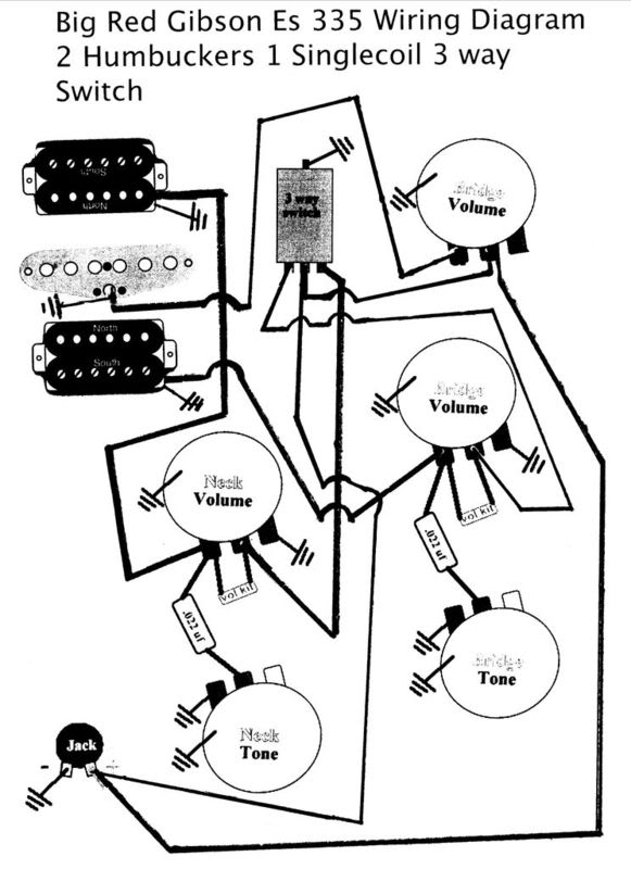 2 Humbucker Wiring Diagrams